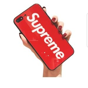 Nwt, Supreme iPhone 7/8 plus cover.